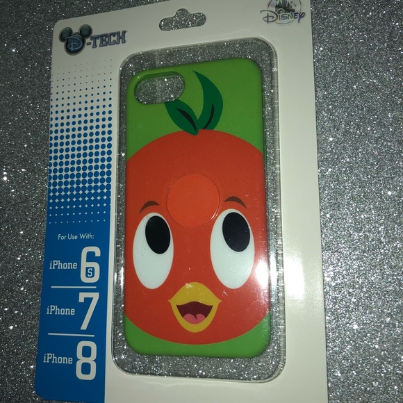 New Disney Parks orange bird iPhone case